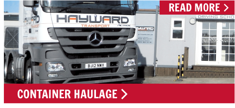 Haywards Transport - Container Haulage