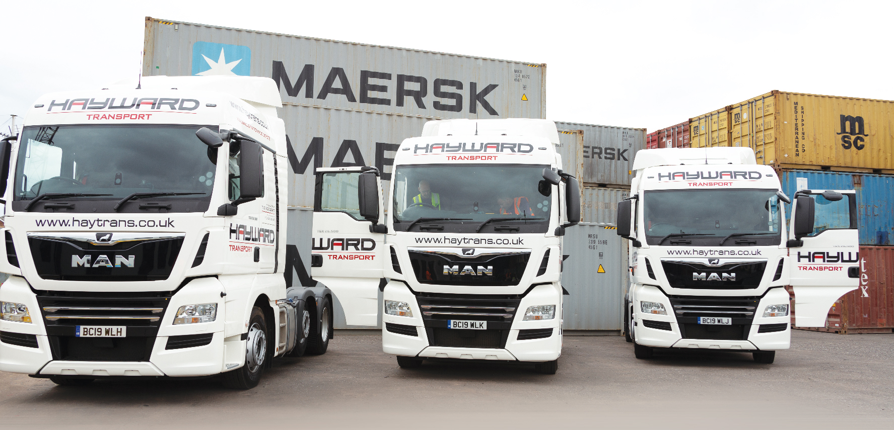 J Hayward & Sons of Walsall Ltd - flexible and trusted haulage solutions | container haulage