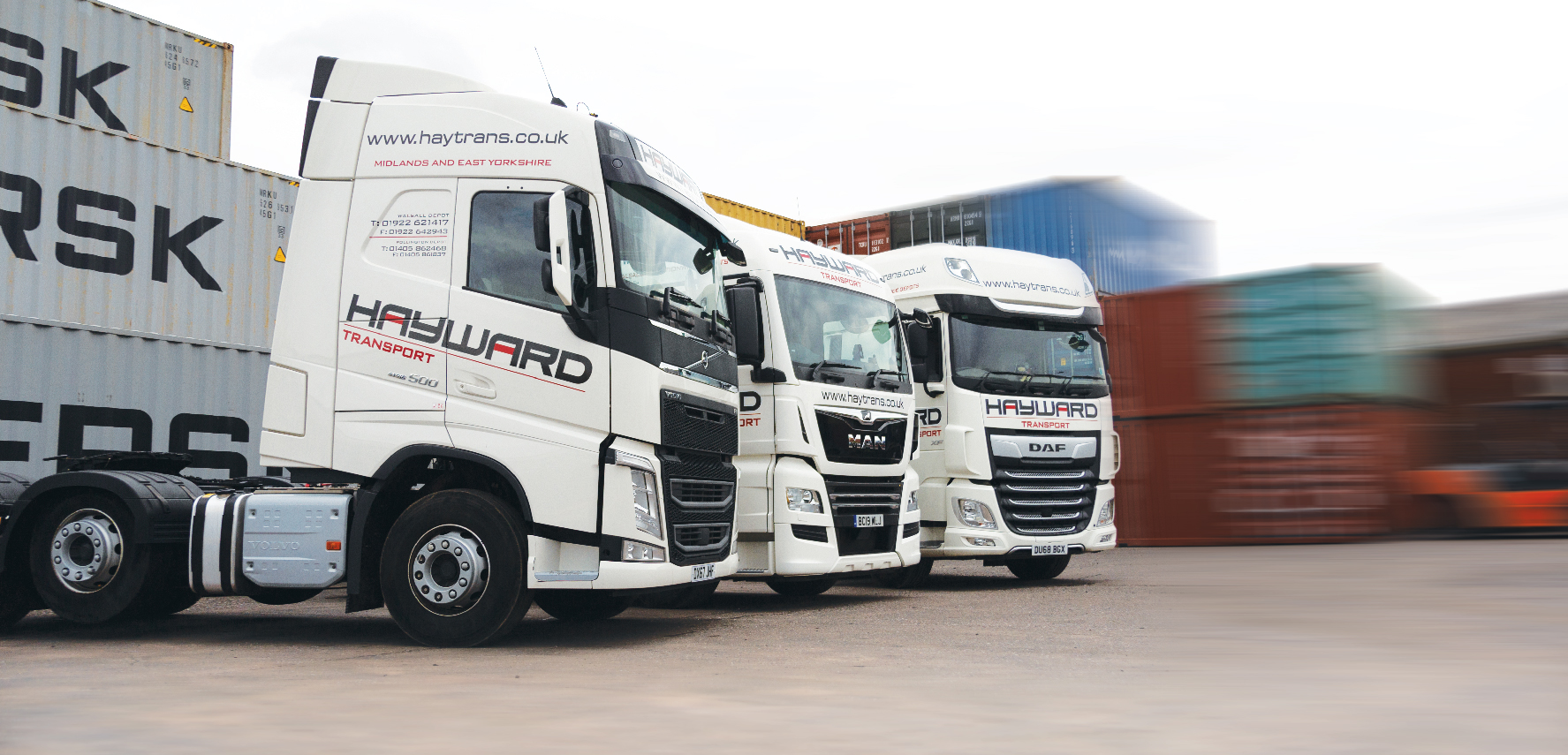 J Hayward & Sons of Walsall Ltd - flexible and trusted haulage solutions | low loaders and plant