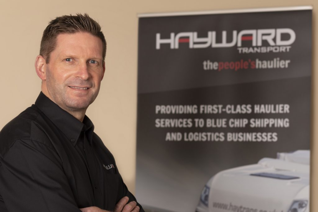 J Hayward & Sons of Walsall Ltd - flexible and trusted haulage solutions - Sean Haywood