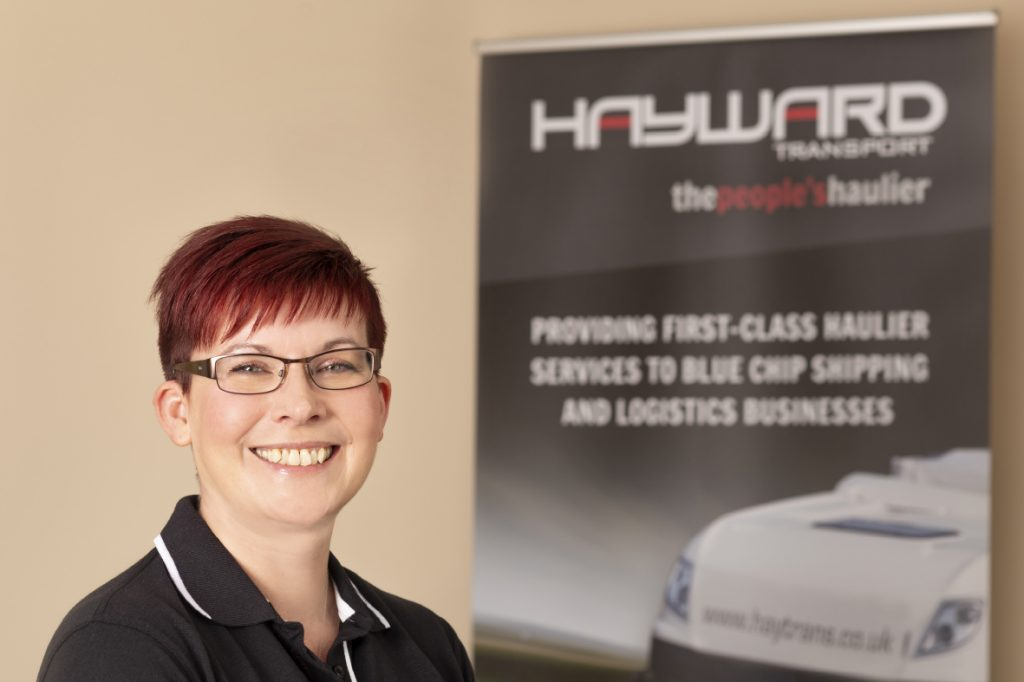 J Hayward & Sons of Walsall Ltd - flexible and trusted haulage solutions - Michelle Jarvill