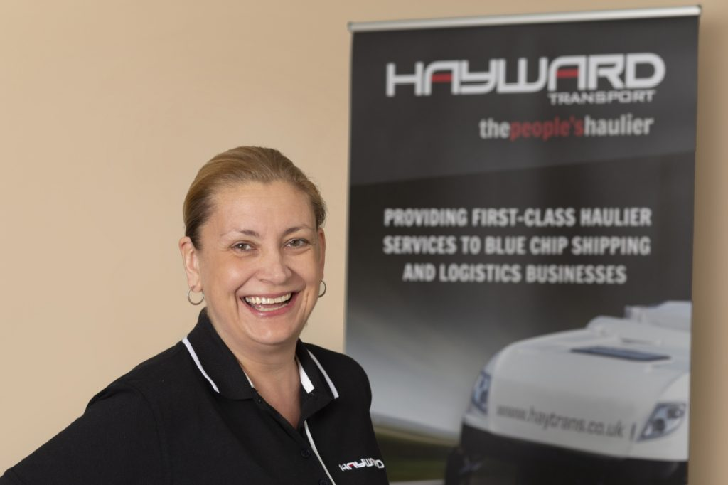 J Hayward & Sons of Walsall Ltd - flexible and trusted haulage solutions - Annette Moss
