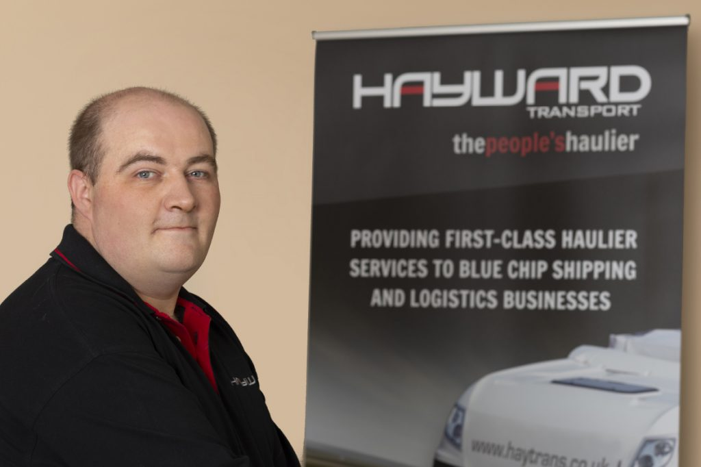 J Hayward & Sons of Walsall Ltd - flexible and trusted haulage solutions - John Brookes