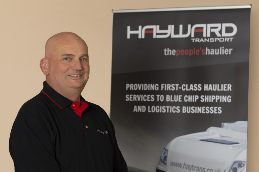 J Hayward & Sons of Walsall Ltd - flexible and trusted haulage solutions - Andy Armitage