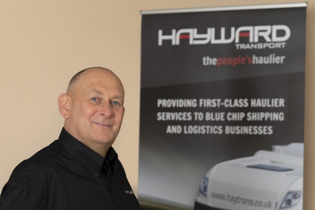 J Hayward & Sons of Walsall Ltd - flexible and trusted haulage solutions - Kelly Moss