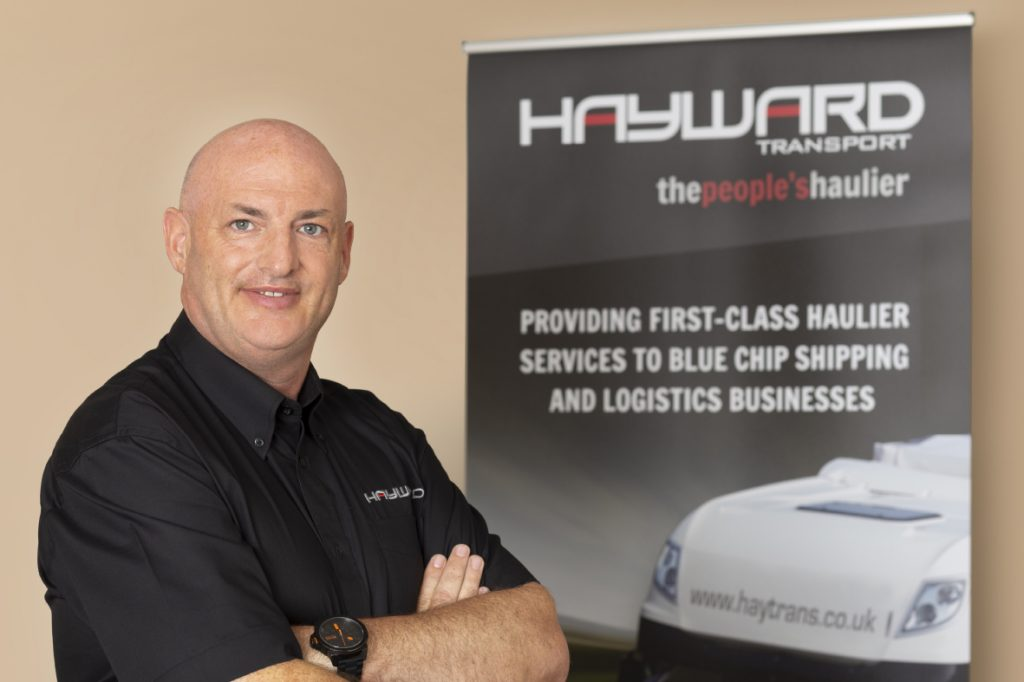 J Hayward & Sons of Walsall Ltd - flexible and trusted haulage solutions - Pete Radford