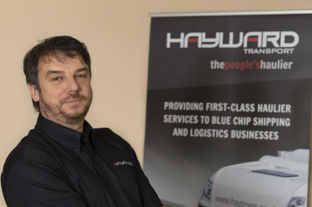 J Hayward & Sons of Walsall Ltd - flexible and trusted haulage solutions - Darren Sheffield