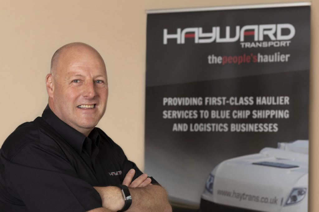J Hayward & Sons of Walsall Ltd - flexible and trusted haulage solutions - Quinn Holmes