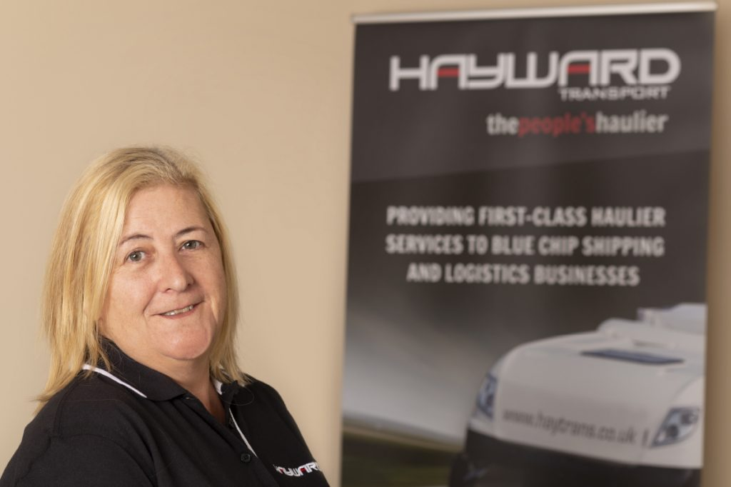 J Hayward & Sons of Walsall Ltd - flexible and trusted haulage solutions - Dawn Cooper