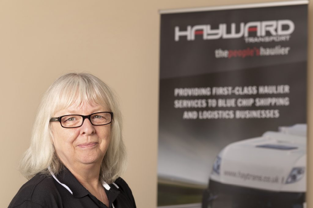 J Hayward & Sons of Walsall Ltd - flexible and trusted haulage solutions - Irene Farr